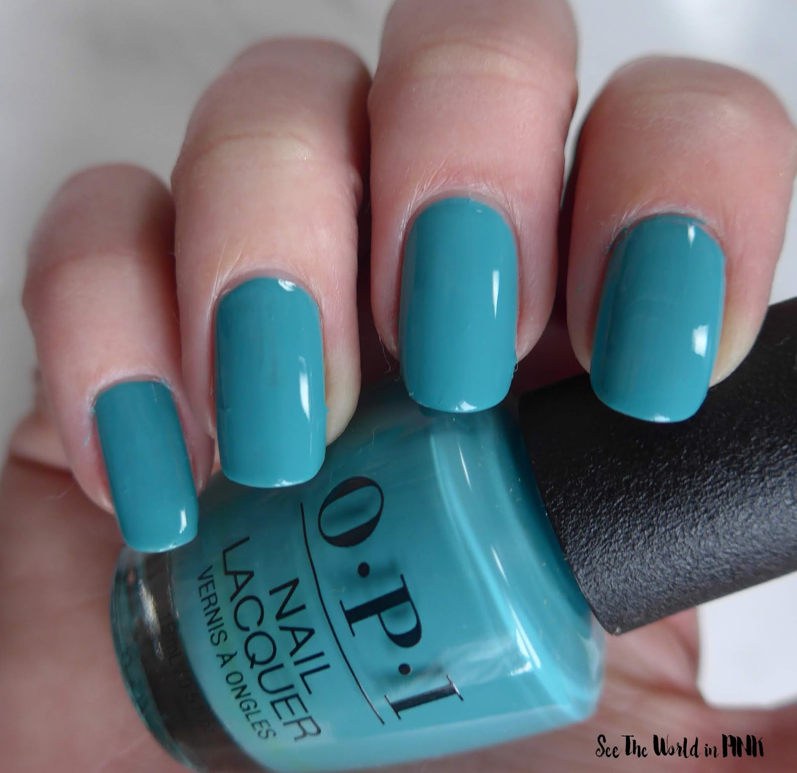 Manicure Monday - OPI Tokyo Collection for Spring and Summer 2019 Suzi-san Climbs Fuji-san