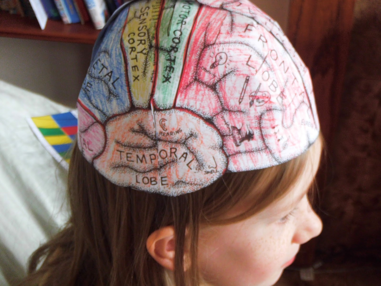 brain hat template home education ellen mchenry brain hats and st george 39 s