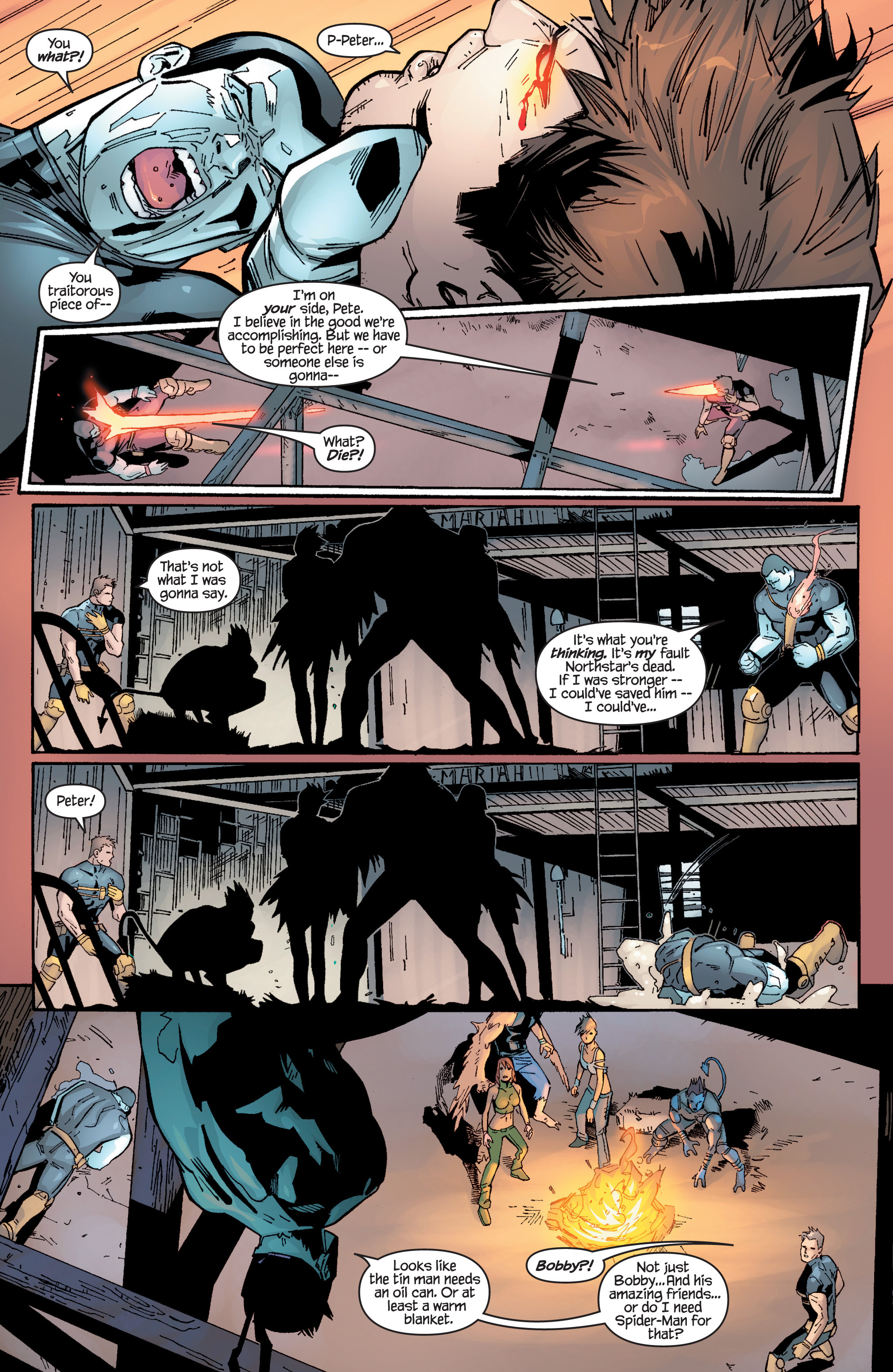 Read online Ultimate X-Men comic -  Issue #96 - 16
