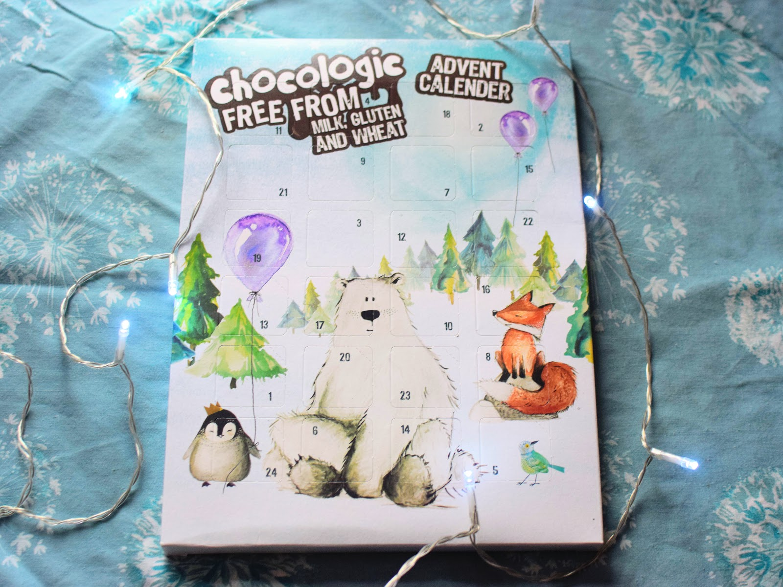 , Christmas:  5 Vegan Dairy Free Advent Calendars + a Giveaway