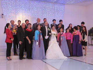 Korean wedding photos - all family