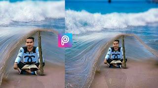 Sea Beach Picsart Manipulation Editing like Photoshop cc