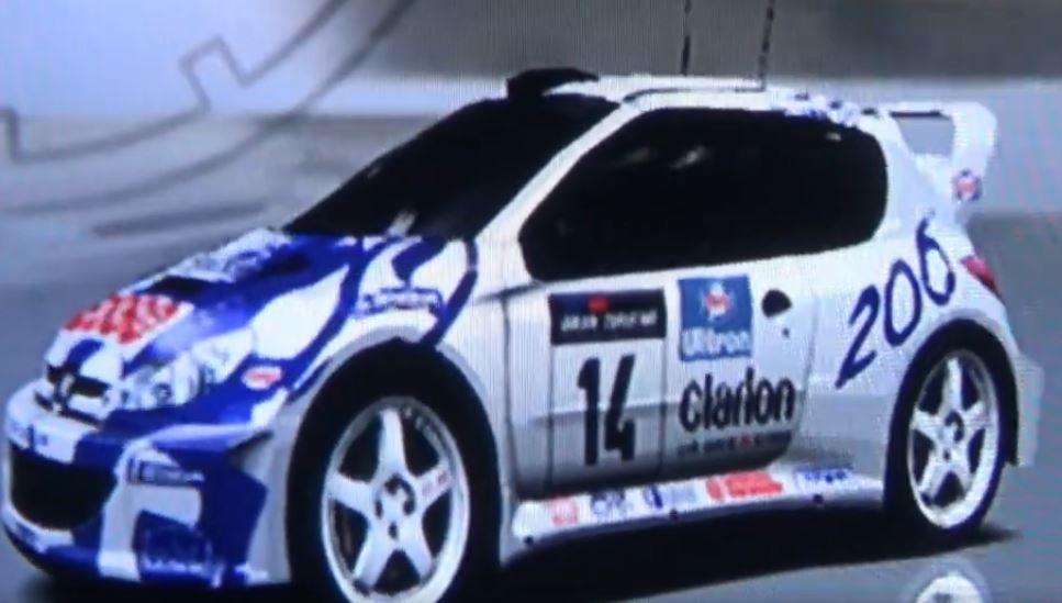 Peugeot 206 Rally Car 1999