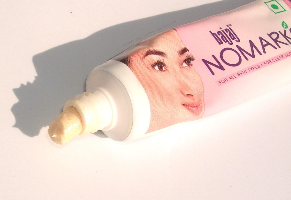 Bajaj Nomarks Cream for All Skin Types Review, Price & Details/www.rakhshanda-chamberofbeauty.com/skincare
