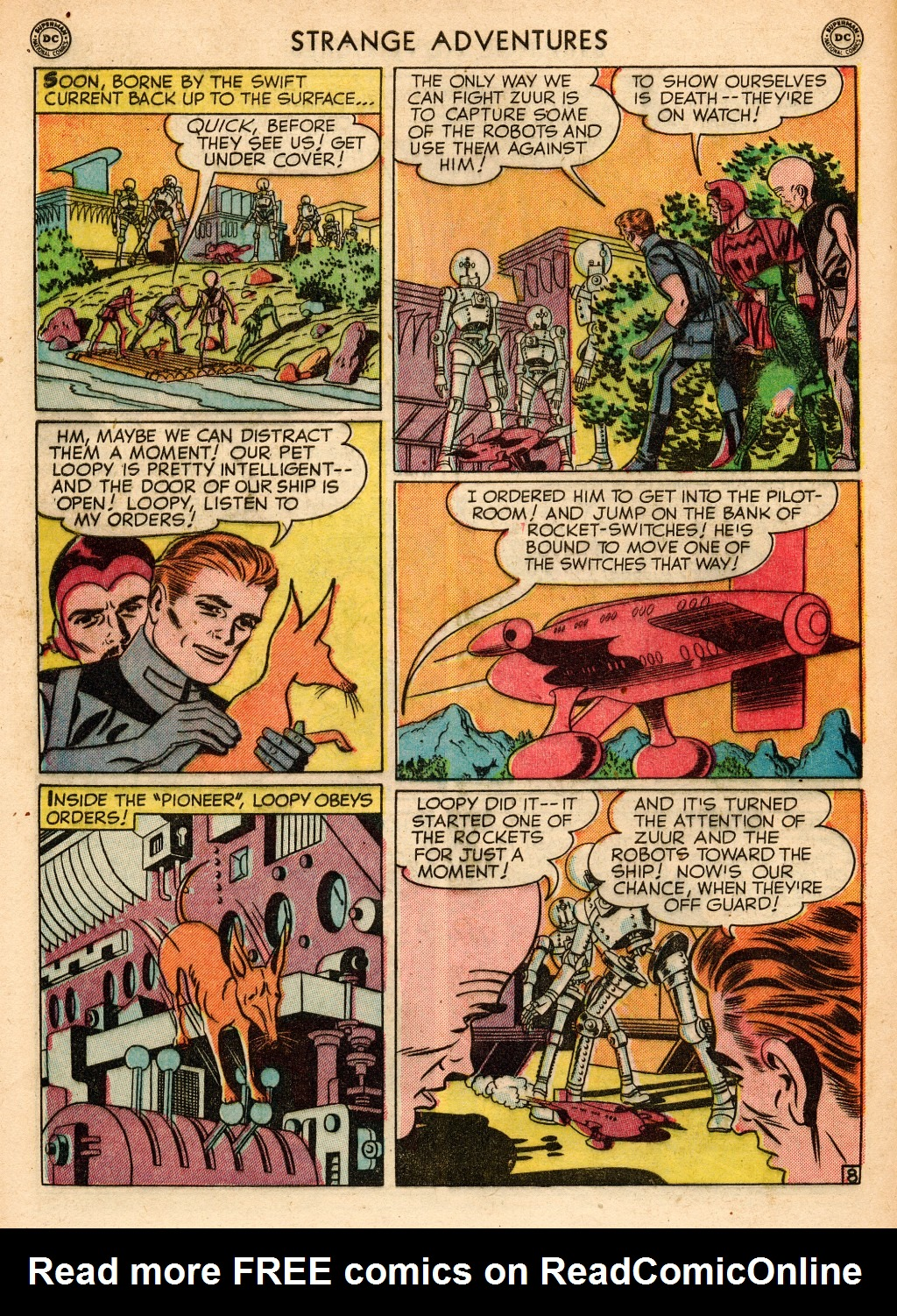 Strange Adventures (1950) issue 2 - Page 46