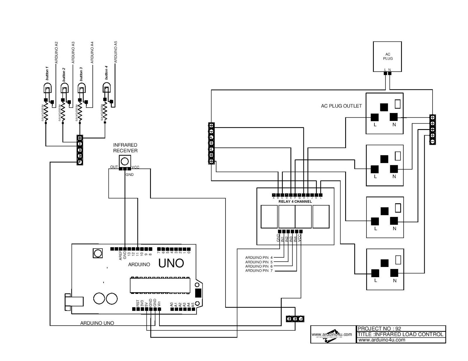 Projek Elektronik Arduino4u.com