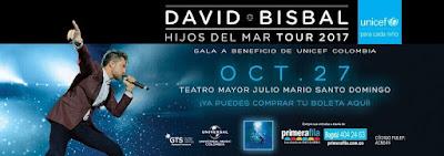 CONCIERTO DE DAVID BISBAL EN BOGOTÁ 2017