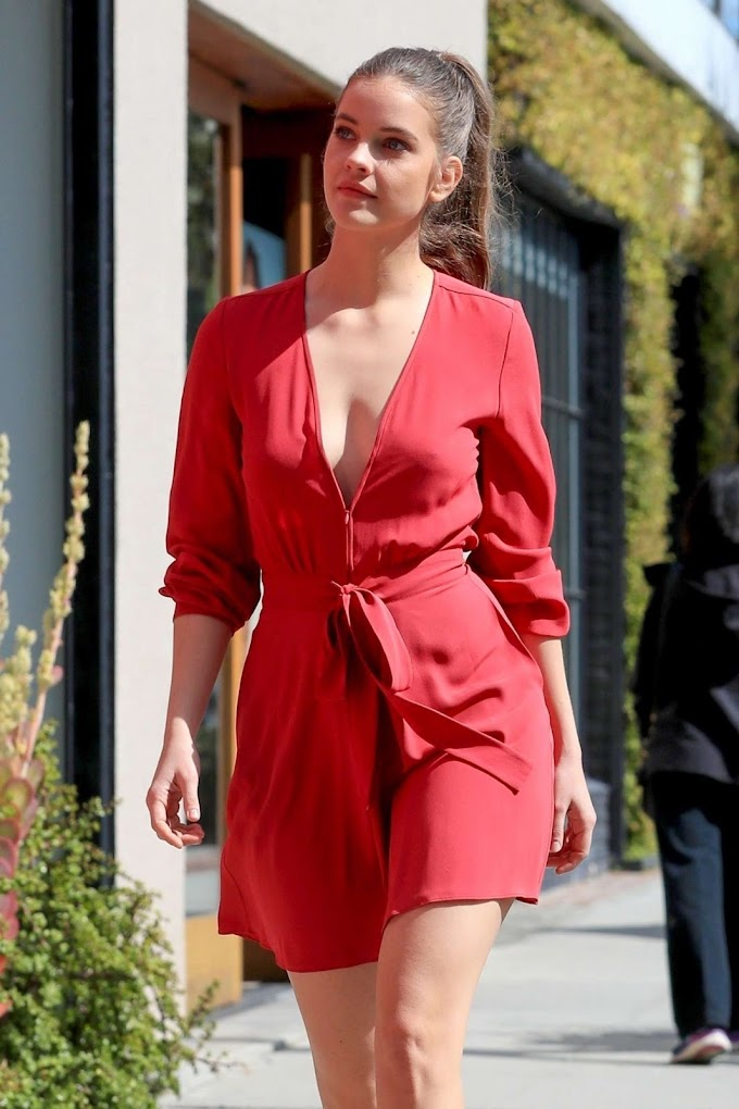 Barbara Palvin in West Hollywood