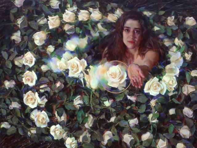Аллегорические картины. Rose Frantzen 7