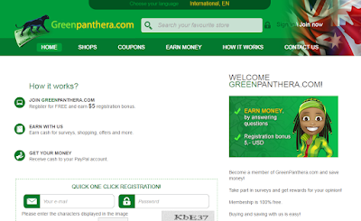 Portada de la Web GreenPanthera