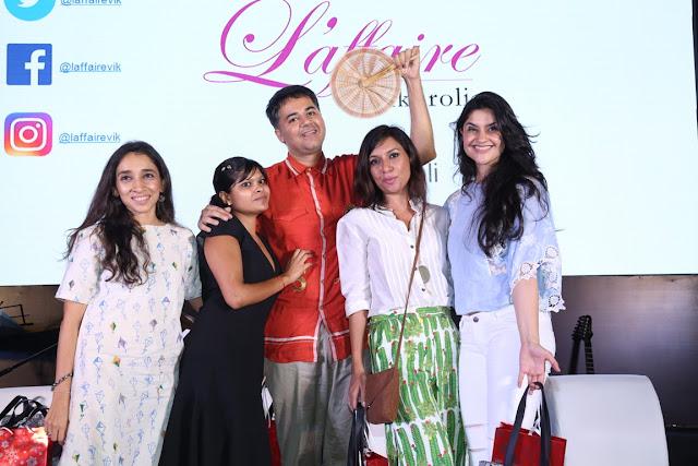Left to Right Mansi Zaveri, Mansi Poddar Parmesh Shahani of Godrej India Culture Lab, MIss Malini and RJ Archana Radiocity