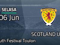 Streaming Indonesia U19 vs Skotlandia U20, 6 Juni 2017