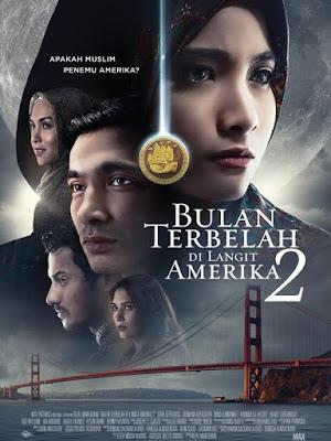 Poster Film Bulan Terbelah Di Langir Amerika 2