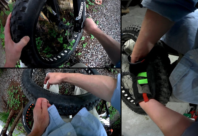 Fatbike Republic Fat Bike Rim Strip Upgrade Rim Strip Replace Duck Tape Newfoundland