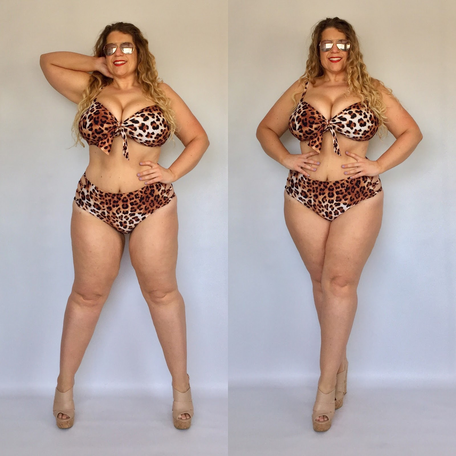Forever 21+ Leopard Bikini