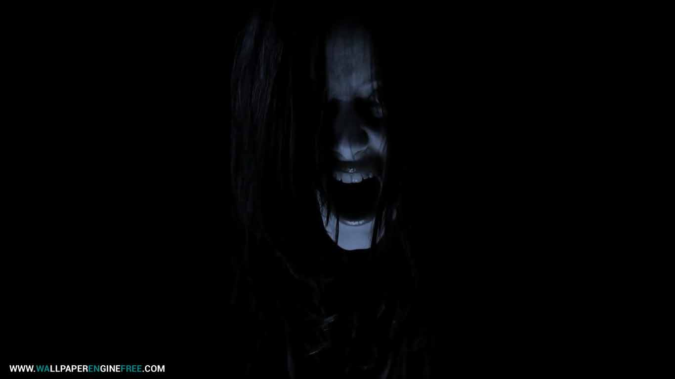 Scary Face Live Wallpaper Engine Free | FREE Wallpaper