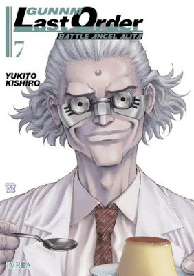 "Reseña de ""Gunnm Last Order"" vols. 7 y 8 de Yukito Kishiro - Ivréa"