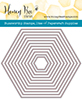 Honey bee dies - HEXAGON SOLID STACK