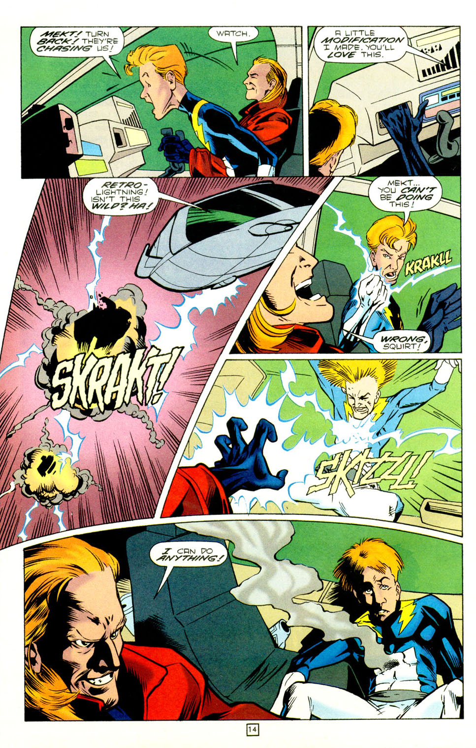 Legion of Super-Heroes (1989) 73 Page 14