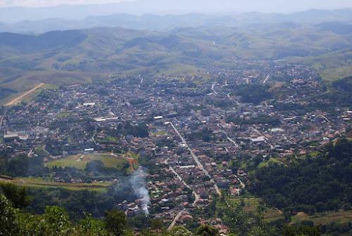 Vista aérea de Valença - RJ