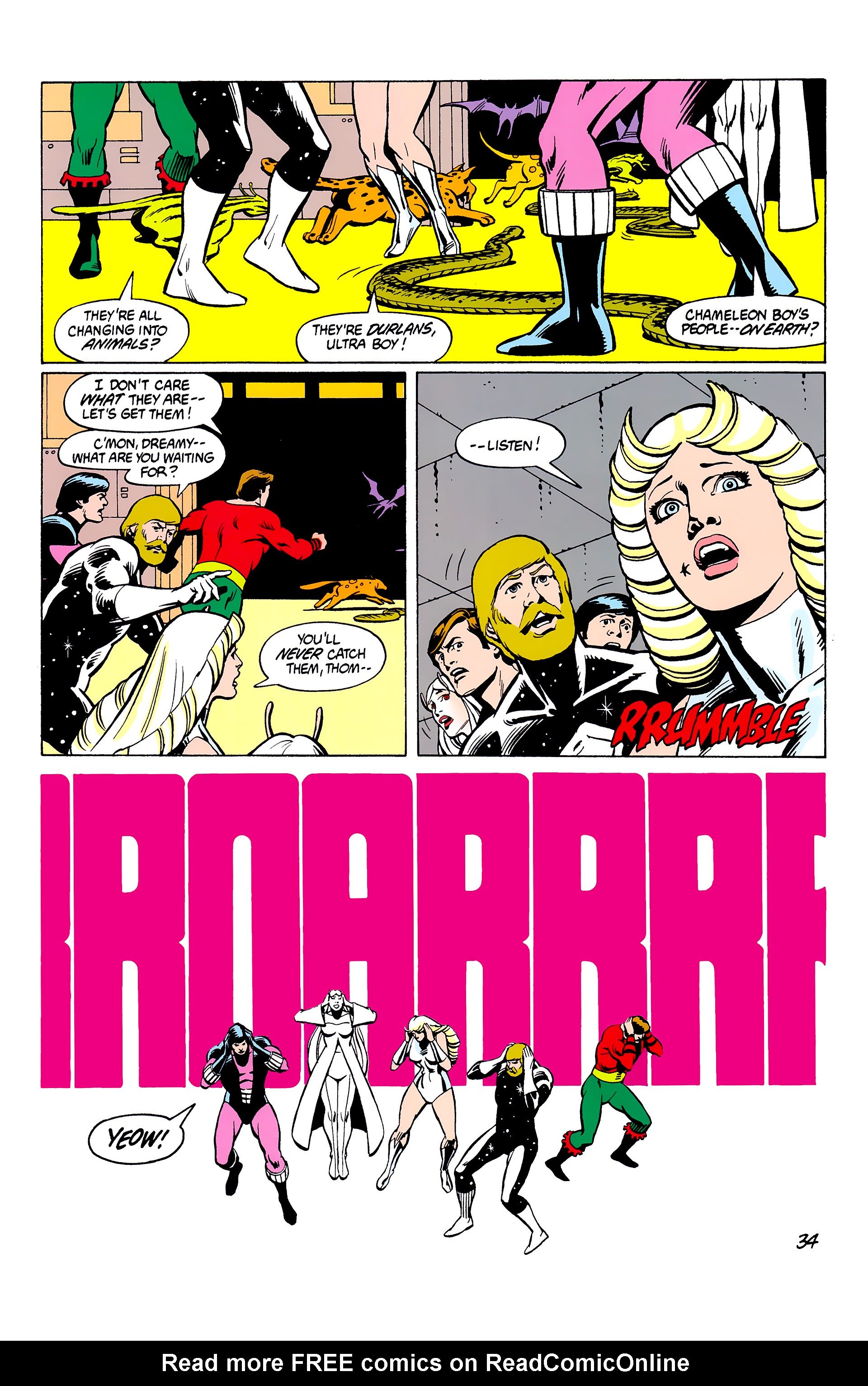 Legion of Super-Heroes (1980) _Annual_2 Page 34