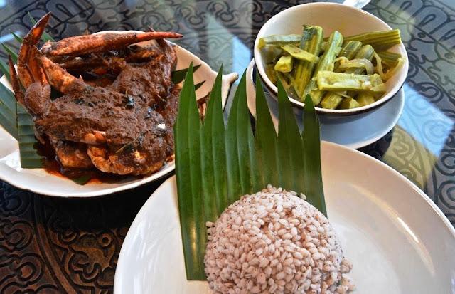 Jettwing Hotel jaffna, noord sri lanka gastronomie, crab curry, Odiyal Kool