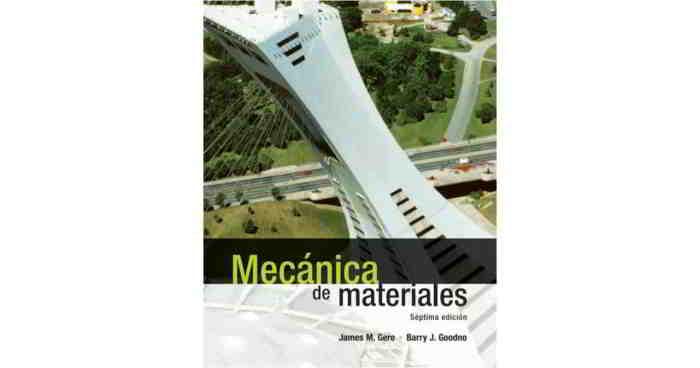 Descargar Mecánica de Materiales - James M. Gere