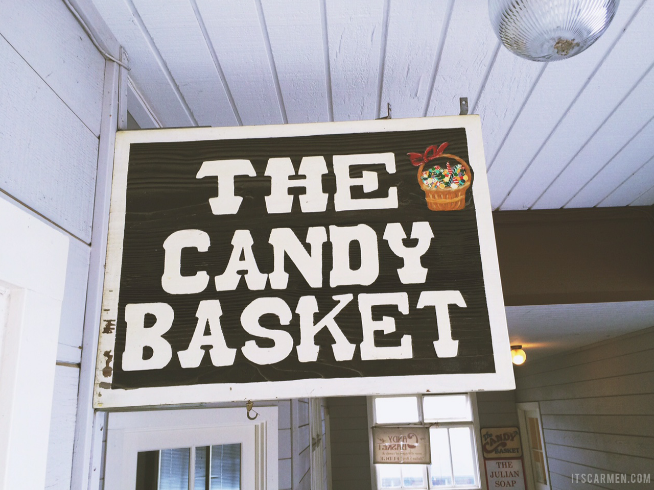 the candy basket