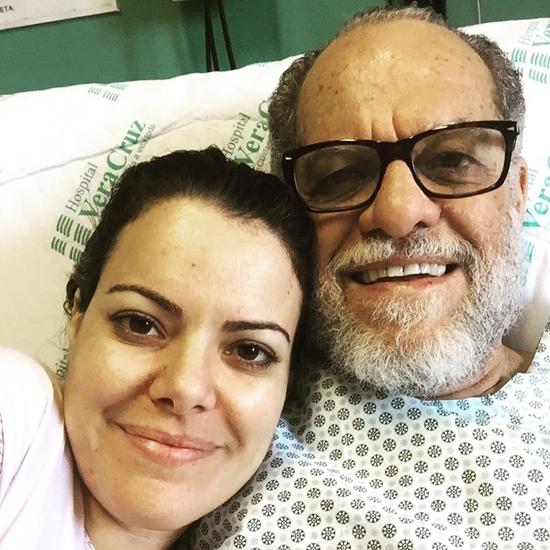 Ana Paula Pastor Márcio Valadão cateterismo artérias entupidas ameaça de enfarte recuperação alta  hospitalar