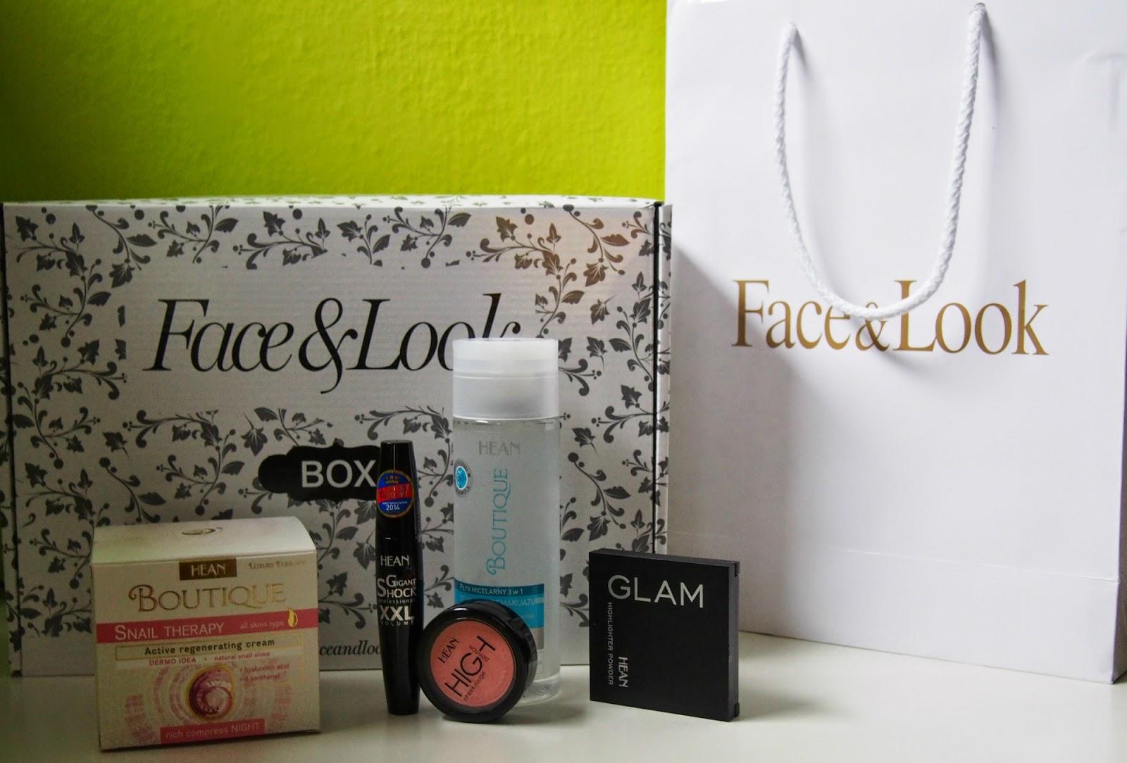 F&L box Hean 3 - pudełko pełne kosmetyków recenzja