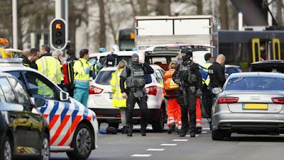 Utrech -Pays-Bas : un mort et plusieurs blessés lors d'une fusillade  dans un tramway et des coups de feu prés d'une mosquée