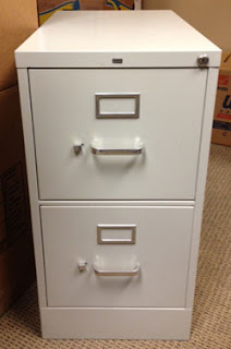 DIY filing cabinet makeover redo quick and easy