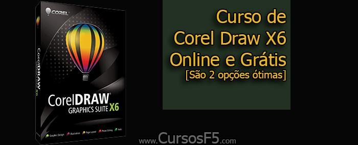 Curso de Corel Draw X6 Online e Grátis [São 2 opções ótimas]