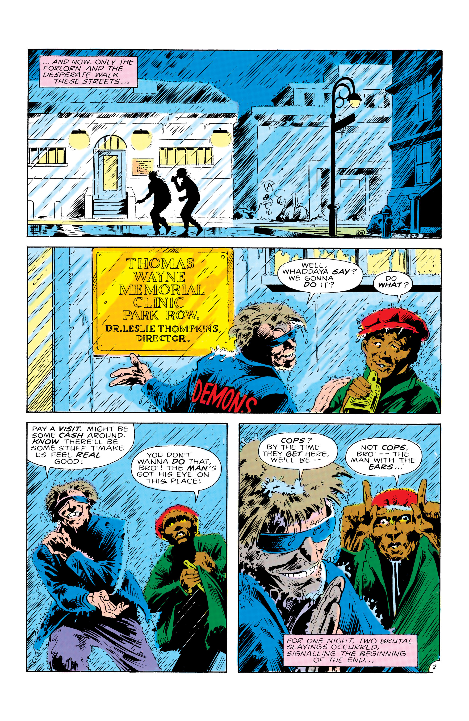 Detective Comics (1937) 574 Page 2