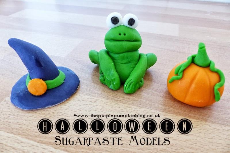 #Halloween Sugarpaste Models #CraftyOctober