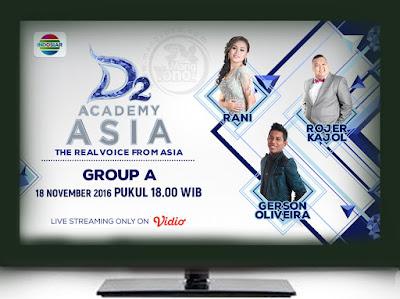 D'Academy Asia 2 ( D'AA 2) Babak 18 Besar Grup A