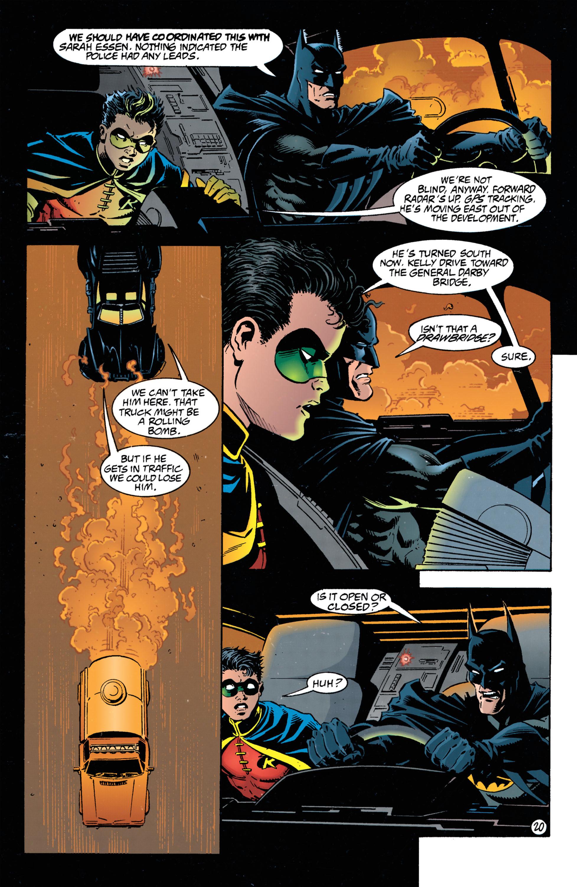 Detective Comics (1937) 693 Page 20