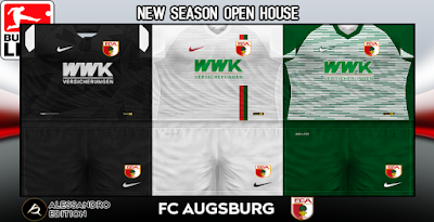 PES 6 Kits FC Augsburg Season 2018/2019 by Alessandro