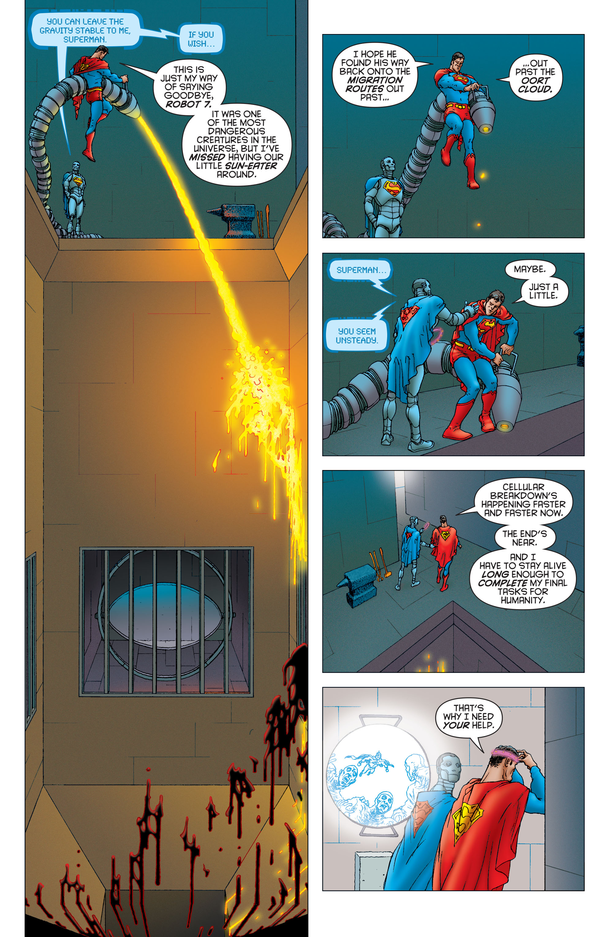 Read online All Star Superman comic -  Issue #11 - 5