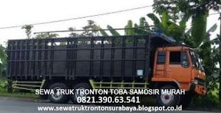 SEWA TRUK TRONTON SURABAYA TOBA SAMOSIR (BALIGE) MURAH