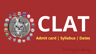 CLAT is a common law admission test for admission in various National Law University