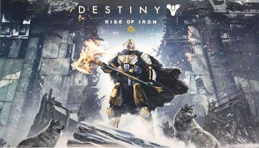 Se filtra nuevo contenido de Destiny llamado Rise of Iron, con Lord Saladin en la portada