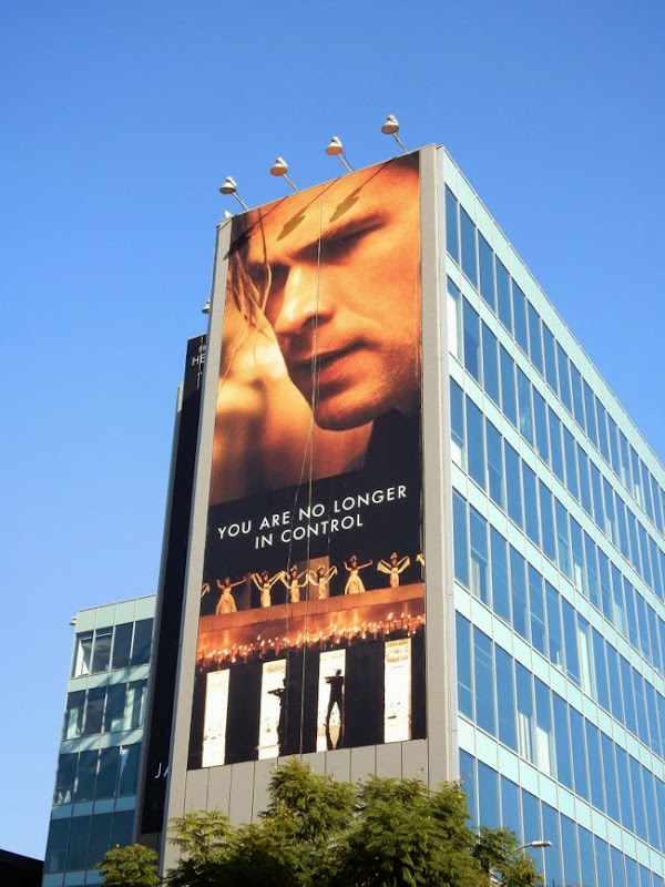 Giant Blackhat movie billboard