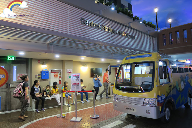 Central station of Kidzania