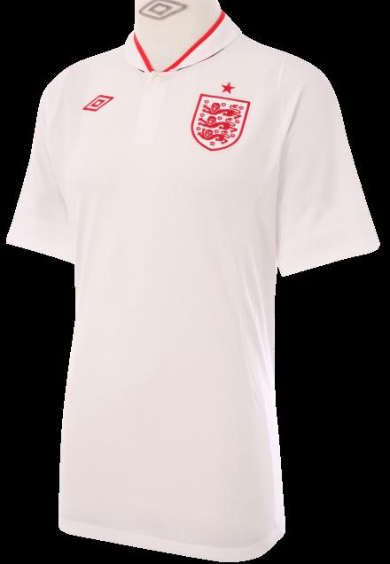 996b1b6e64 Umbro divulga novos uniformes da Inglaterra - Show de Camisas