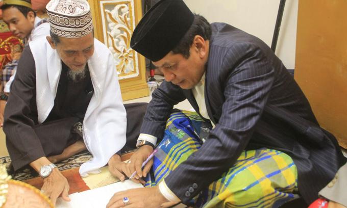 NH Saksi Nikah Putri Wakil Ketua Dewan Koperasi Indonesia