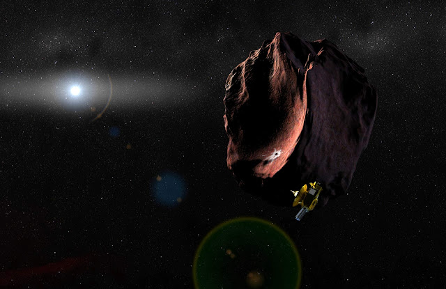 NASA's New Horizons is inquiry to set and explore the Kuiper Belt 1