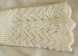winter wedding gloves fingerless mitts or glove pattern