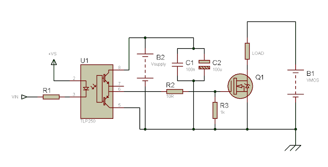 Using the TLP250 Isolated MOSFET Driver - Explanation and Example Circuits 10