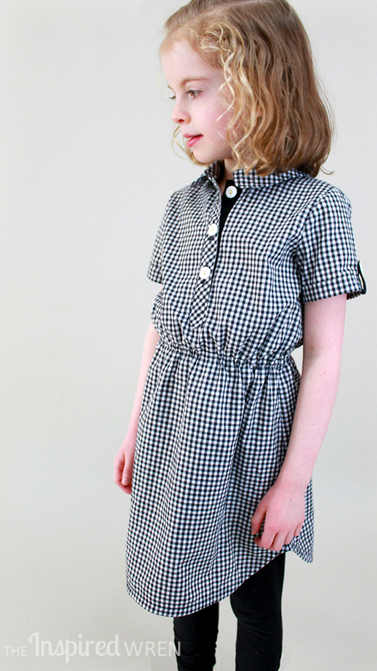 Perfect! Oliver + S Jump Rope Dress as Shirt Dress | The Inspired Wren